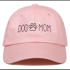 Accessories - Pink Dog Mom Paw Print Hat
